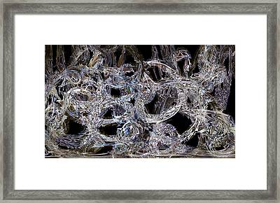 Fully Connected Framed Print
