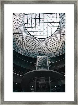 Fulton Center Framed Print by Jessica Jenney