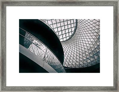 Fulton Station Abstract Framed Print