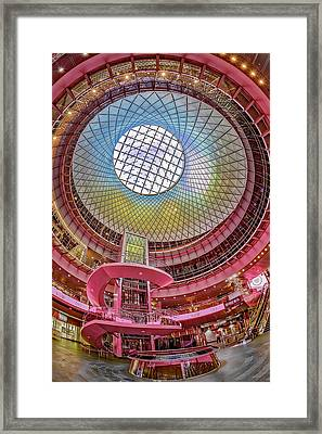 Fulton Street Subway Station Nyc Framed Print by Susan Candelario