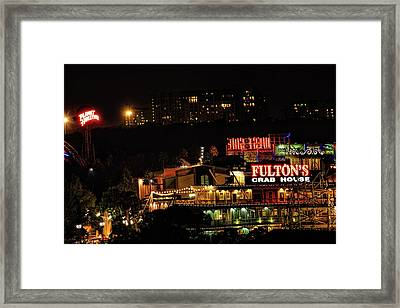 Fultons At Epcot Framed Print