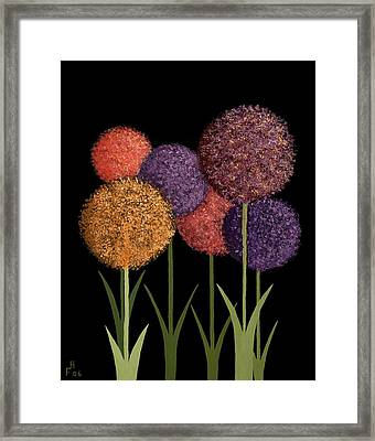 Fun Colours Framed Print