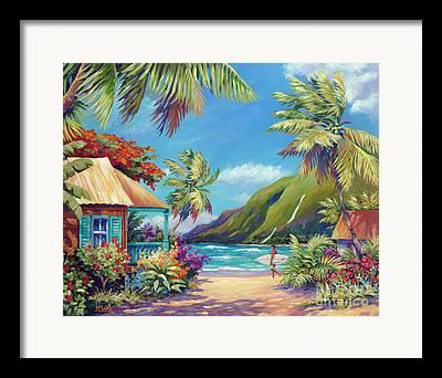 Poipu Framed Prints