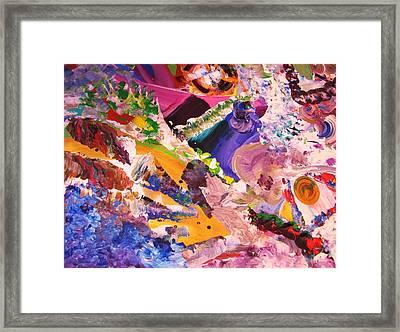 fun Framed Print by HollyWood Creation By linda zanini