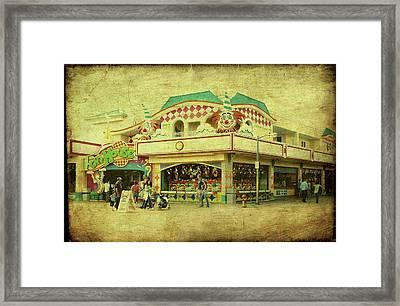 Fun House - Jersey Shore Framed Print