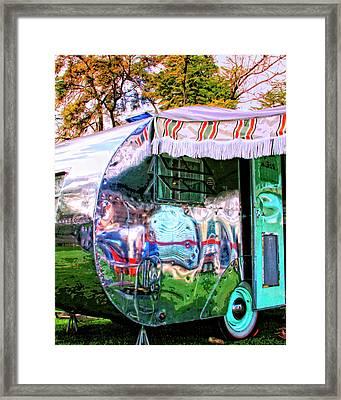 Fun House Palm Springs Framed Print by William Dey