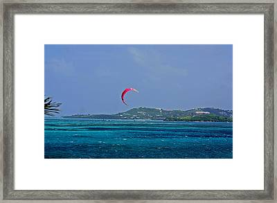 Fun In St. Croix Framed Print by Martin Morehead