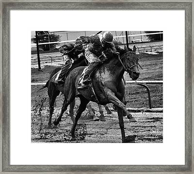 Fun In The Mud 10 Framed Print by Bob Christopher