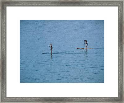 Framed Print featuring the photograph Fun In The Sun At Lake Tahoe by Dan Whittemore