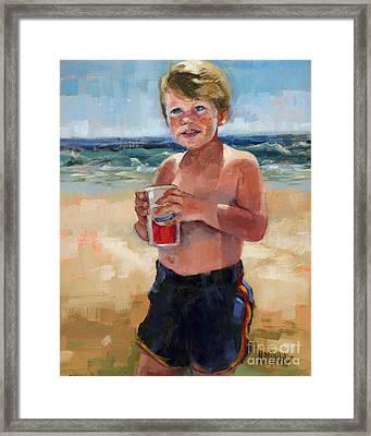 Sold Fun In The Sun Framed Print