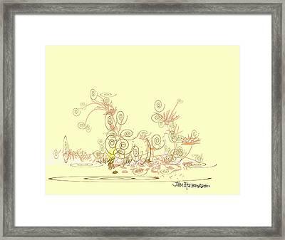 Fun Framed Print by Jim Hubbard