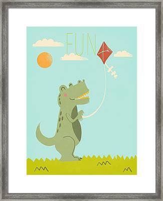Fun Framed Print by Nicole Wilson