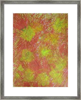 Fun On The Fourth Framed Print by Judith Redman