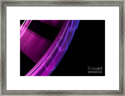 Fun Wheel Spin Out Framed Print