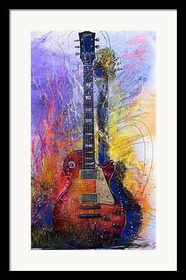 Gibson Framed Prints