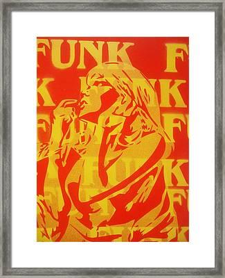 Funk Framed Print