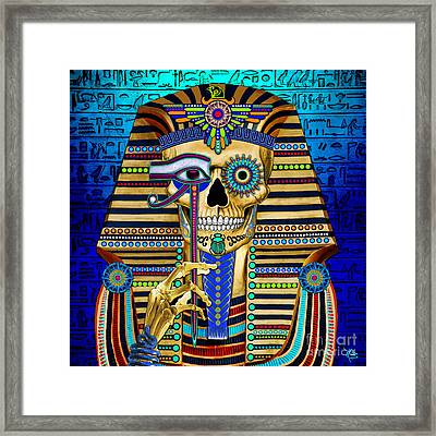 Funky Bone Pharaoh Framed Print