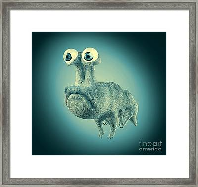 Funny And Strange Animal Framed Print by Giovanni Cancemi
