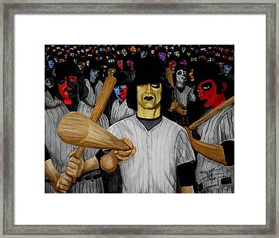 Furies Up To Bat Framed Print