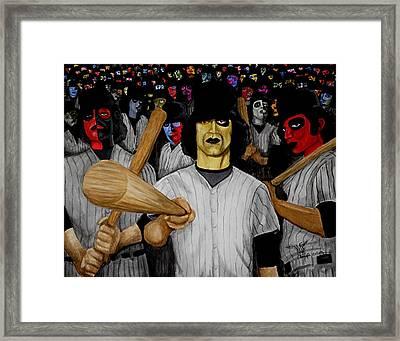 Furies Up To Bat Framed Print by Al  Molina