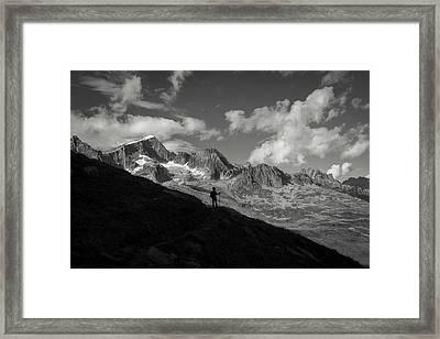 Furka Pass Framed Print