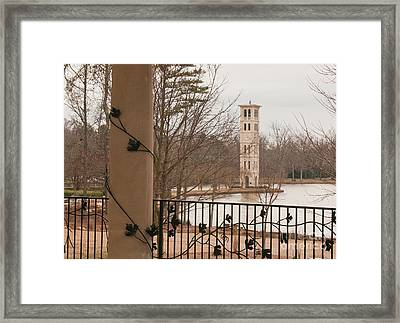 Furman Bell Tower 1 Framed Print