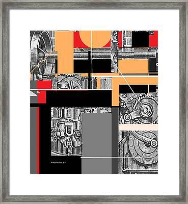 Furnace 2 Framed Print