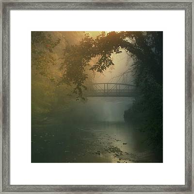 Furnace Run - Square Framed Print