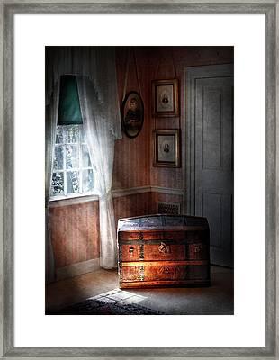 Furniture - Bedroom - Family Secrets Framed Print by Mike Savad