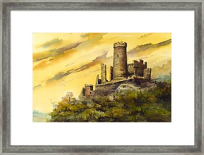Furstenburg On The Rhine Framed Print by Sam Sidders