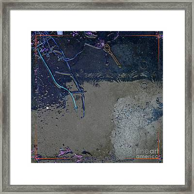 Further Remnants 2 Framed Print by Paul Davenport