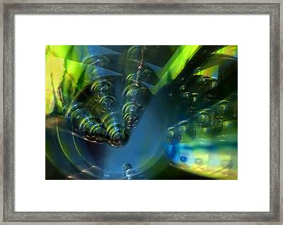 Furturistic Framed Print