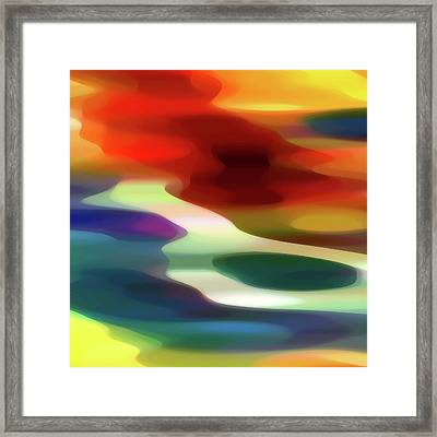 Fury 1 B Framed Print by Amy Vangsgard