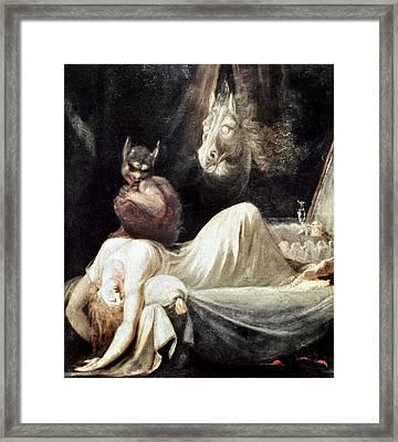 Fuseli: Nightmare, 1781 Framed Print by Granger