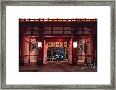Fushimi Inari Taisha, Kyoto Japan 2 Framed Print