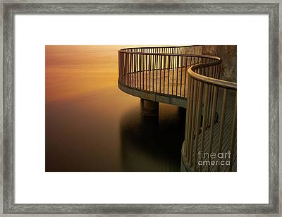 Fusion At Dawn Framed Print by Ian McGregor