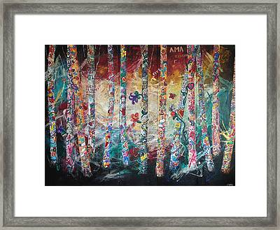Fusion De Color Framed Print