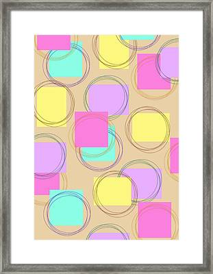 Fusion Framed Print by Francois Domain