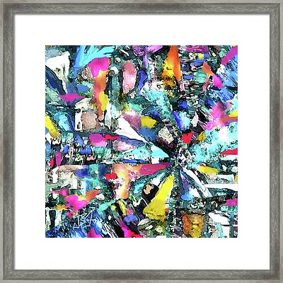 Fusion Process Framed Print