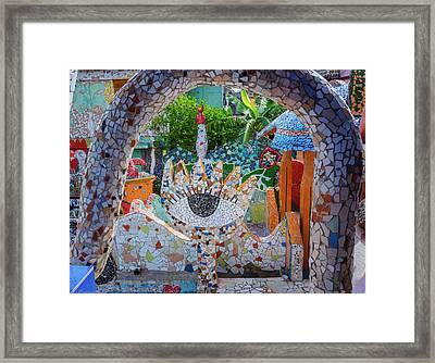 Framed Print featuring the photograph Fusterlandia Havana Cuba by Joan Carroll