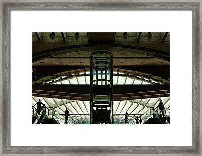 Framed Print featuring the photograph Futurama by Stefan Nielsen