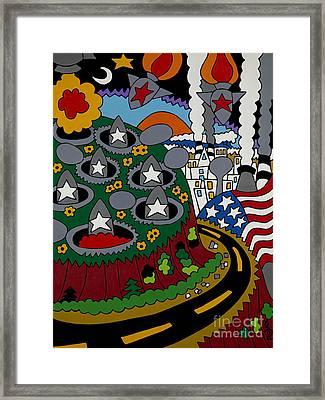 Future Development B Framed Print by Rojax Art