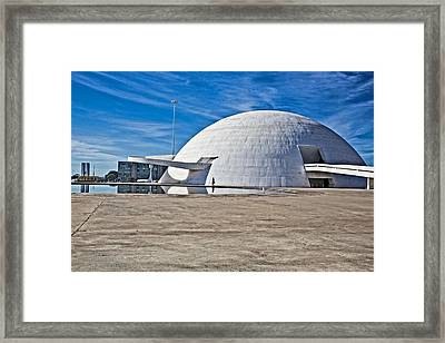Framed Print featuring the photograph Future Dome by Kim Wilson