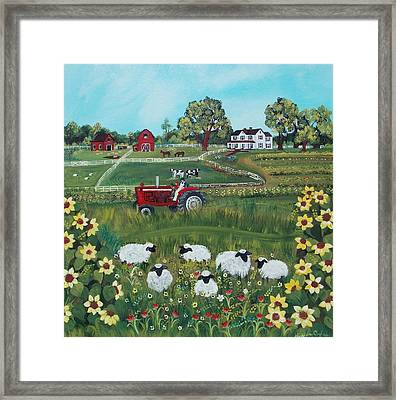 Future Farmer Framed Print
