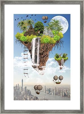 Future Idealism Framed Print