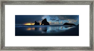 Future In The Past Framed Print