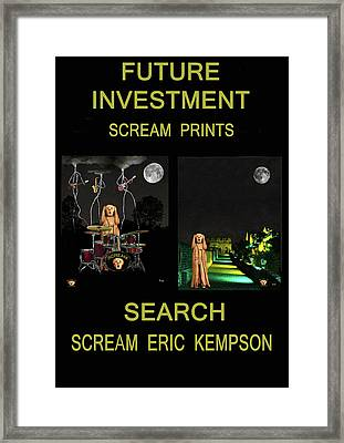 Future Investment Framed Print by Eric Kempson