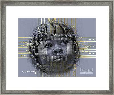 Rite Of Passage Framed Print by Moustafa Al Hatter