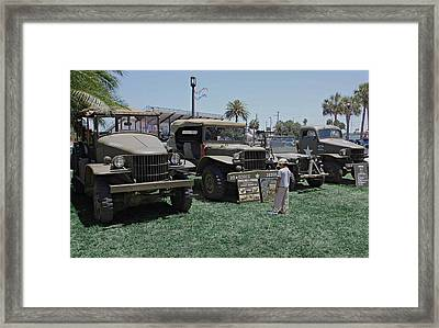 Future Soldier Framed Print by DigiArt Diaries by Vicky B Fuller