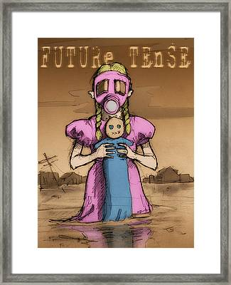 Future Tense Framed Print